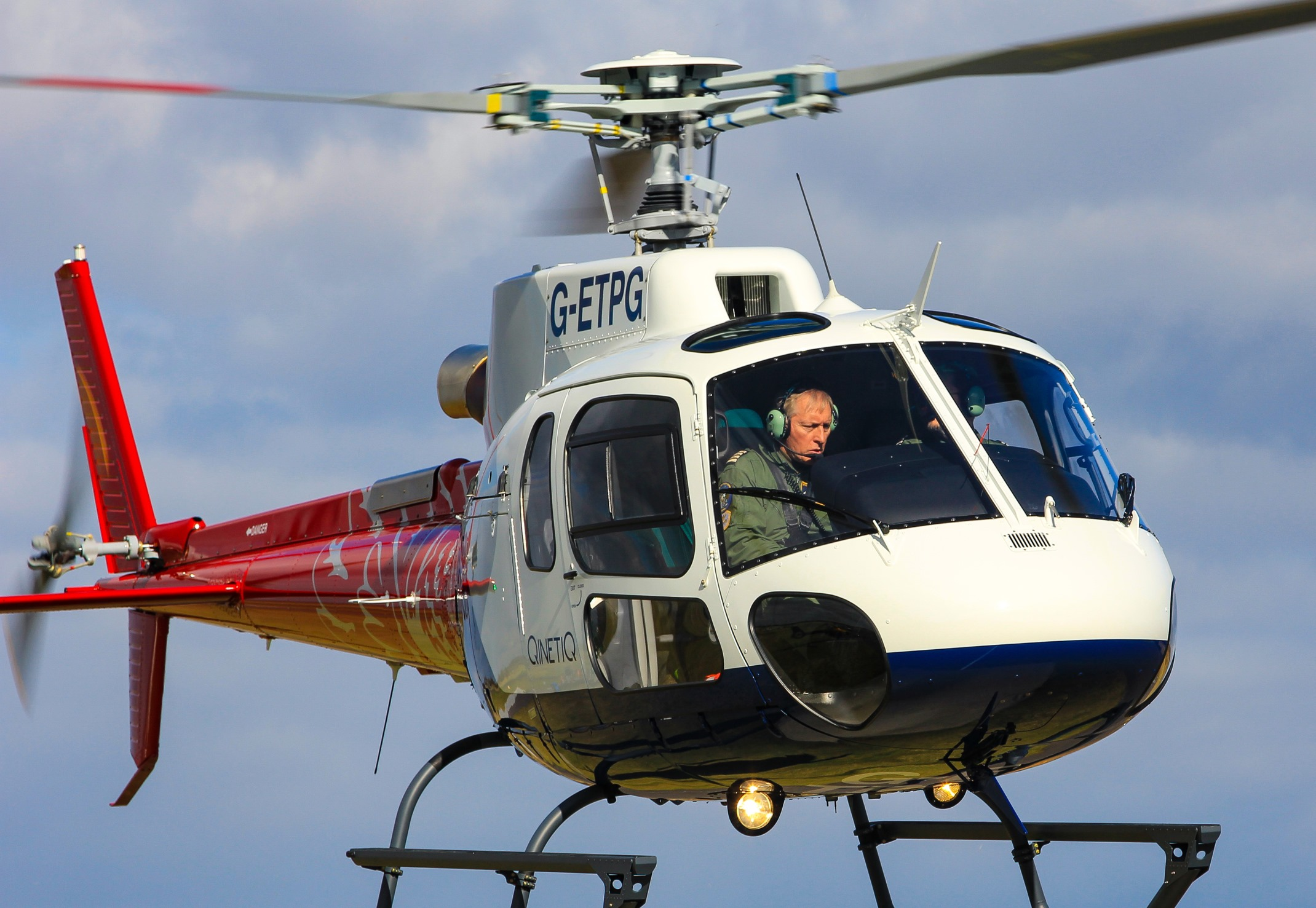 Airbus H125 helicopter