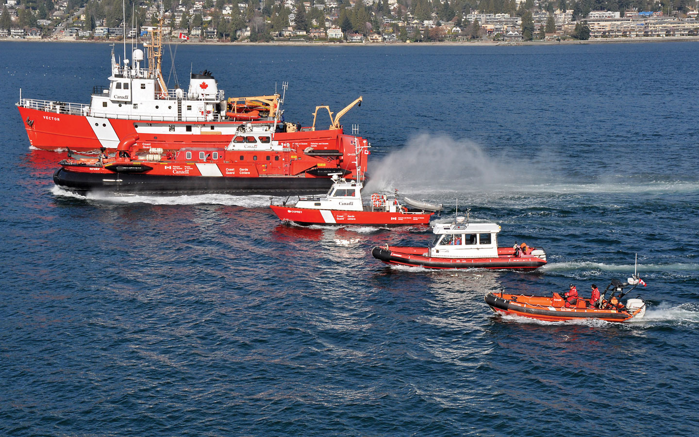The Canadian Coast Guard Fleet
