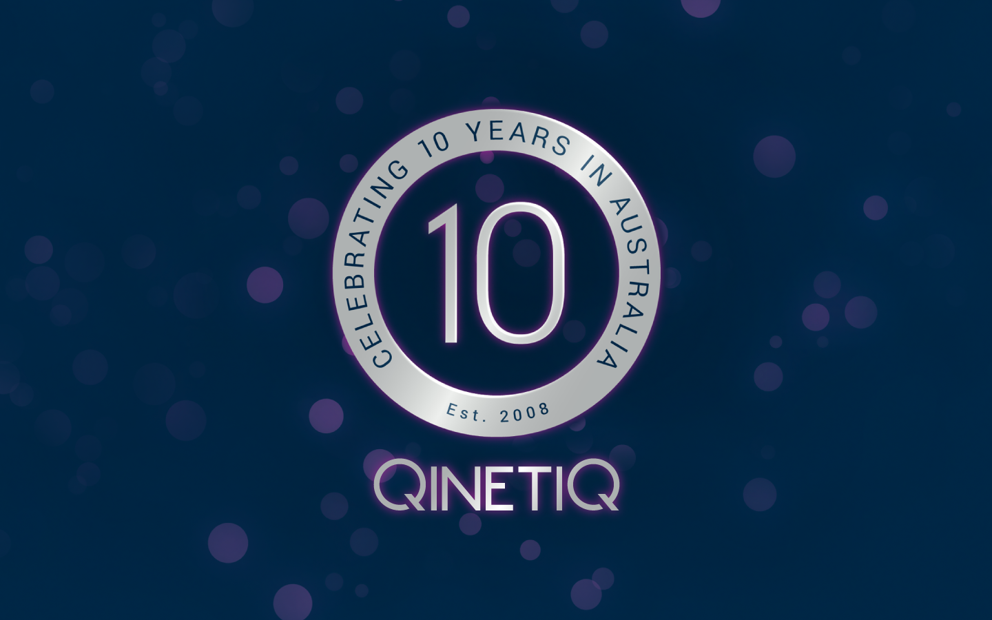 Celebrating 10 years in Australia