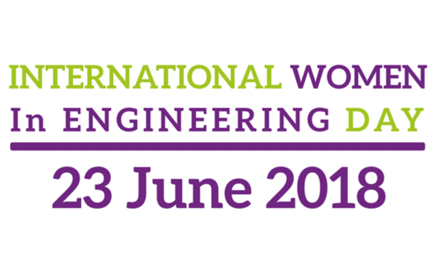 International Women in Engineering Day 2018