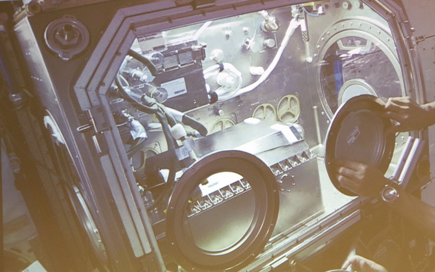 QinetiQ experiments used on International Space Station