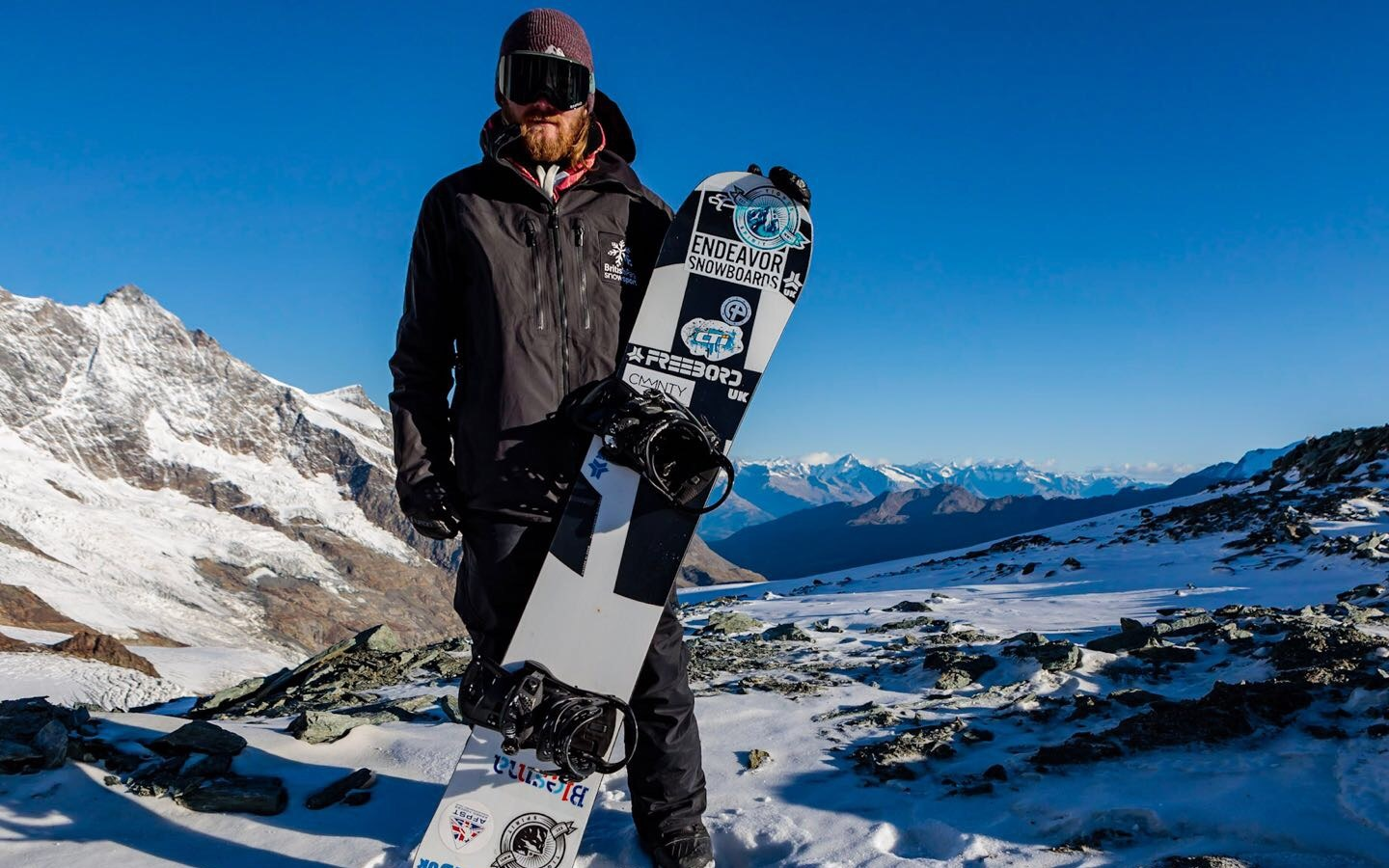 Owen Pick, an adaptive snowboarder and Paralympic contender