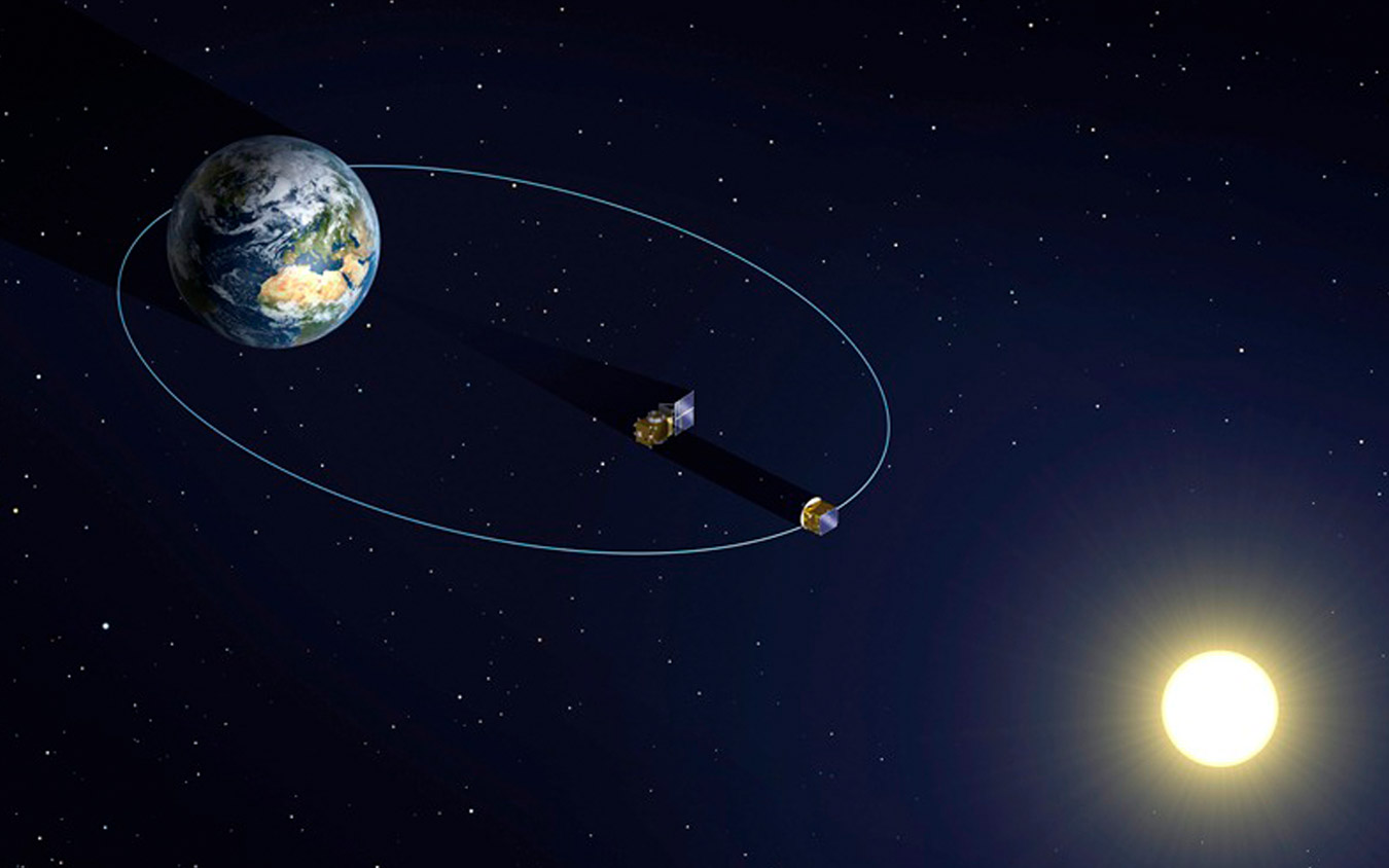 The orbit of Proba-3's formation flying satellites (image: ESA)