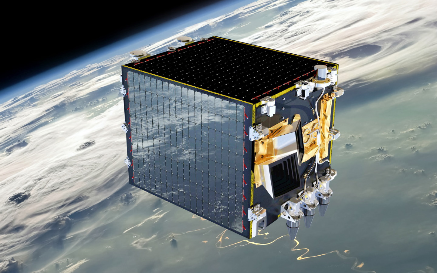 PROBA-V spacecraft