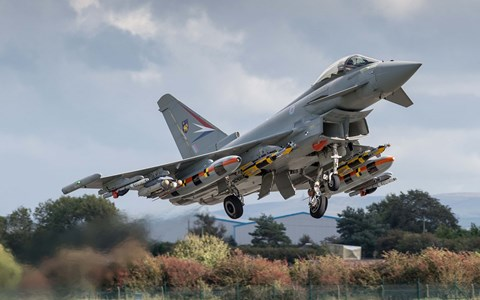 Eurofighter Typhoon enhancement programme: our crucial role