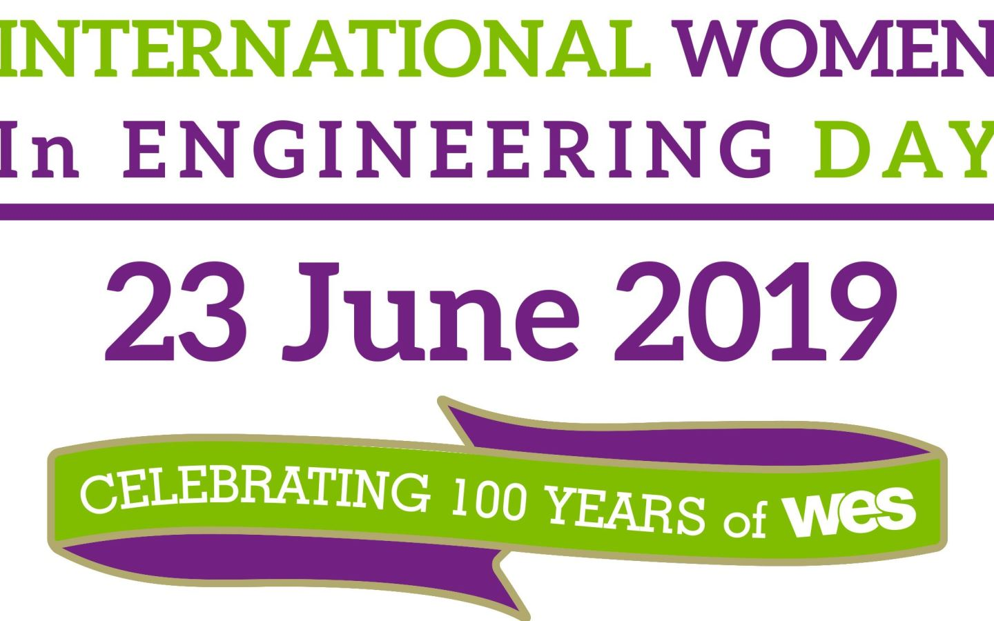International Women in Engineering Day 2019