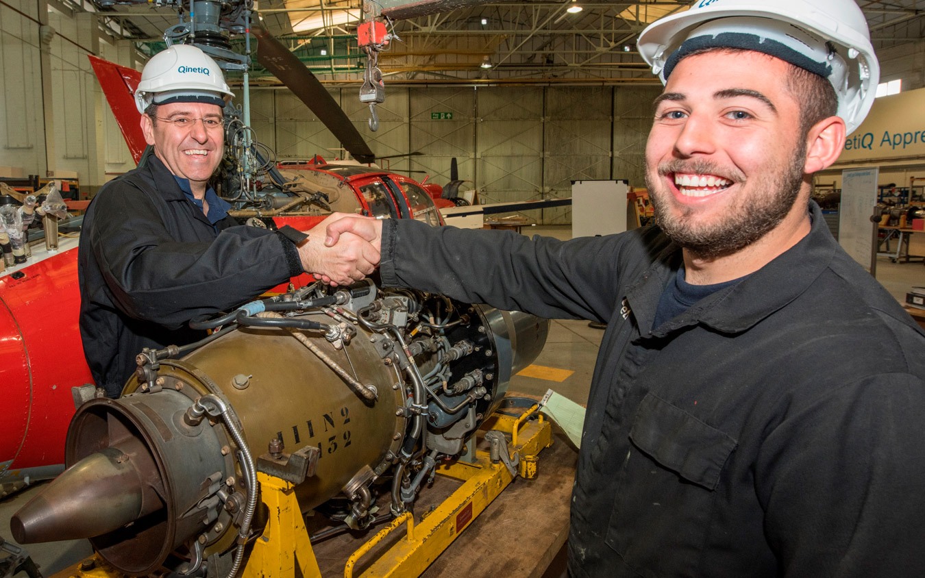 QinetiQ apprentices head for top in national competition