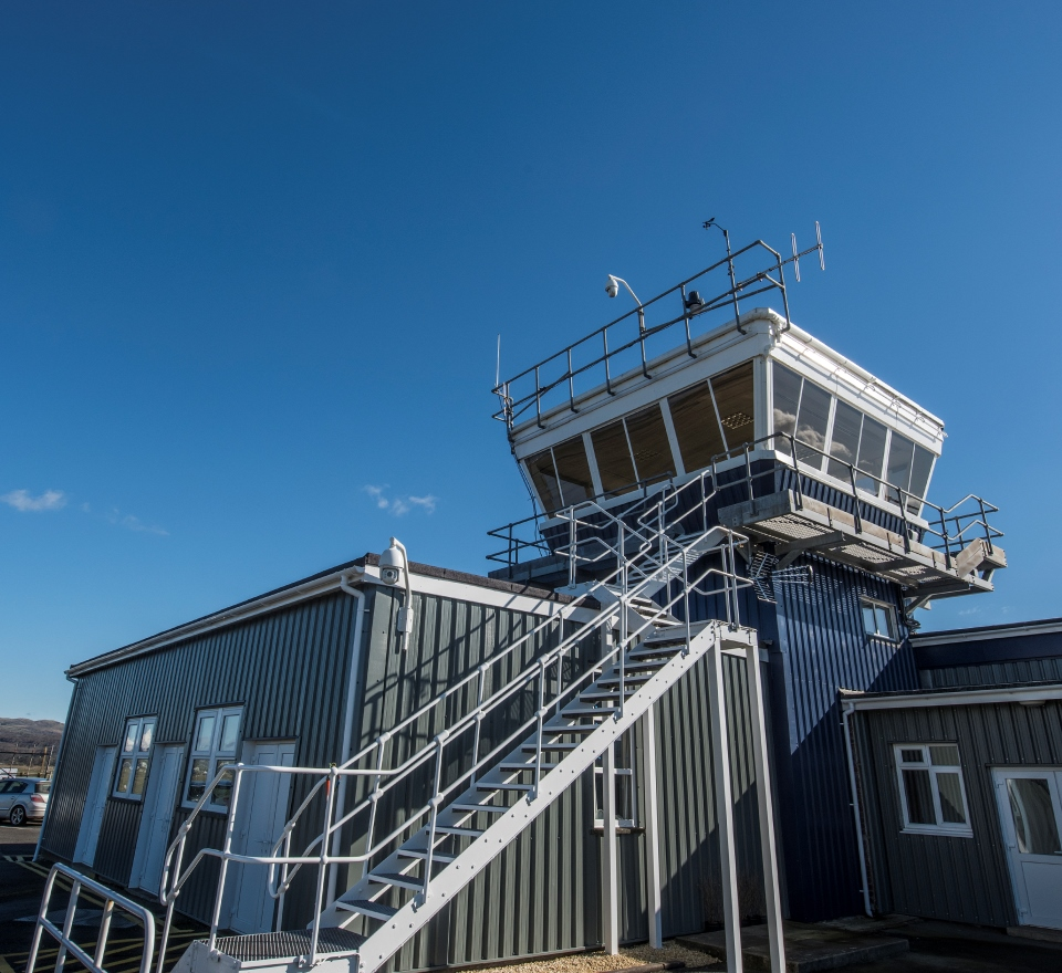 Air traffic control at Llanbedr