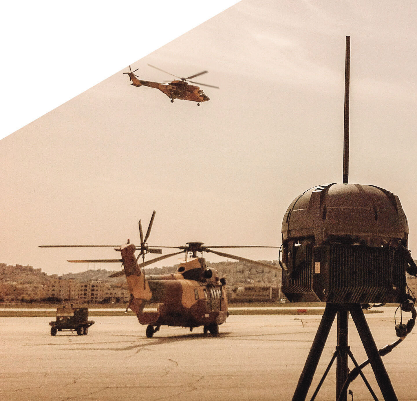 C4ISR and helicopters