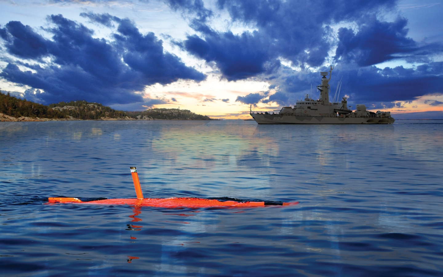 New contract with the Royal Navy will extend QinetiQ's test and evaluation capabilities into ASW training