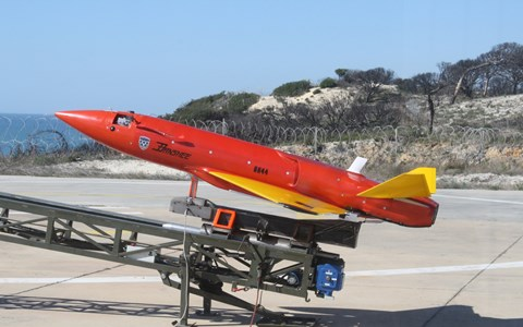 QinetiQ Launches Transonic Next-Generation Banshee Aerial Target