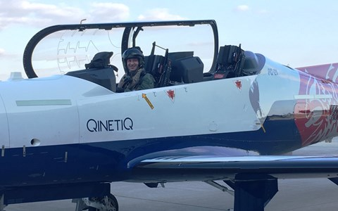 First student takes solo flight from modernised pilots' school