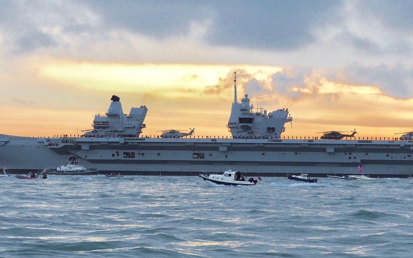 QinetiQ extends essential combat system support to Queen Elizabeth Class aircraft carriers
