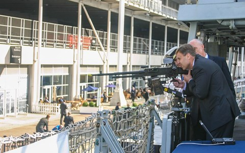 QinetiQ signs new contract with the Royal Navy to optimise gunnery training