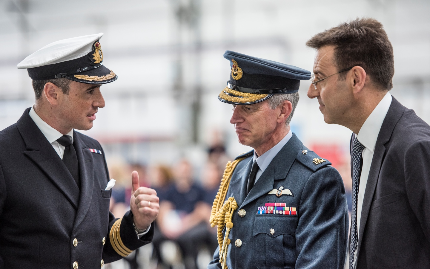 Chief of the Air Staff visit highlights powerful new capability delivered by the Empire Test Pilot School