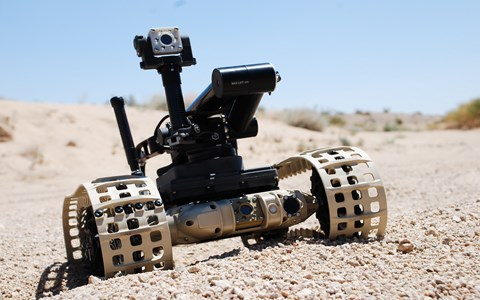 Selected by U.S. DOD for EMD Phase of U.S. Army's Common Robotic System Program