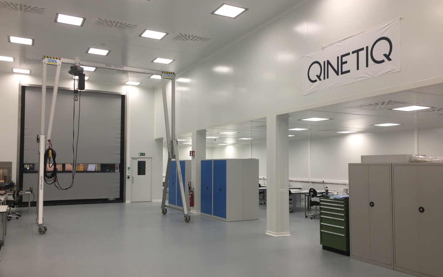 QinetiQ Space Opens New State-of-the-Art Cleanroom Facilities