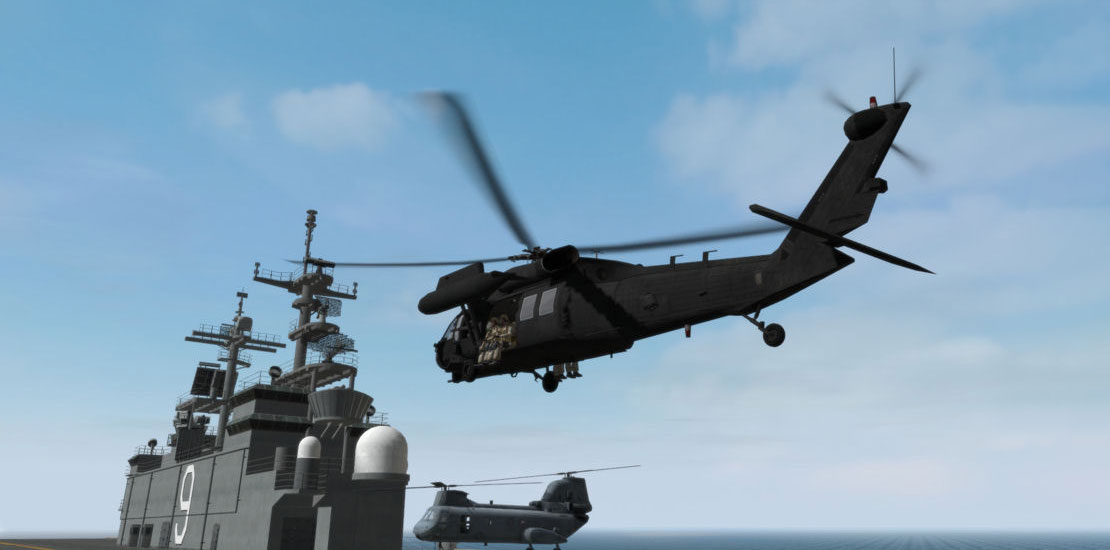 Helicopter simulation