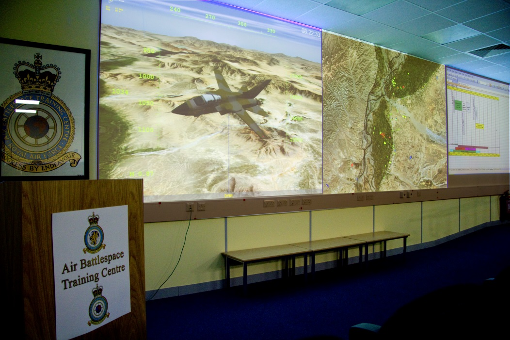 QinetiQ implemented the After Action Review (AAR) capability behind the exercise