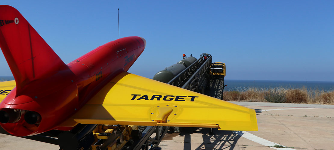 The Banshee Jet 80 Twin-Jet Engine Aerial Targets by QinetiQ