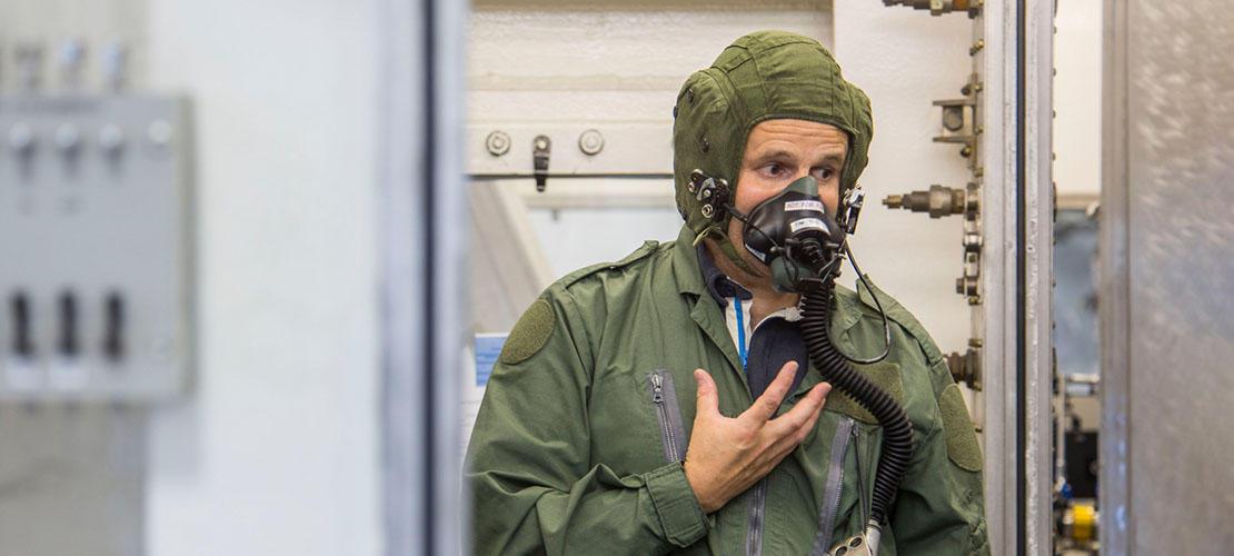 Aircrew training against hypoxia