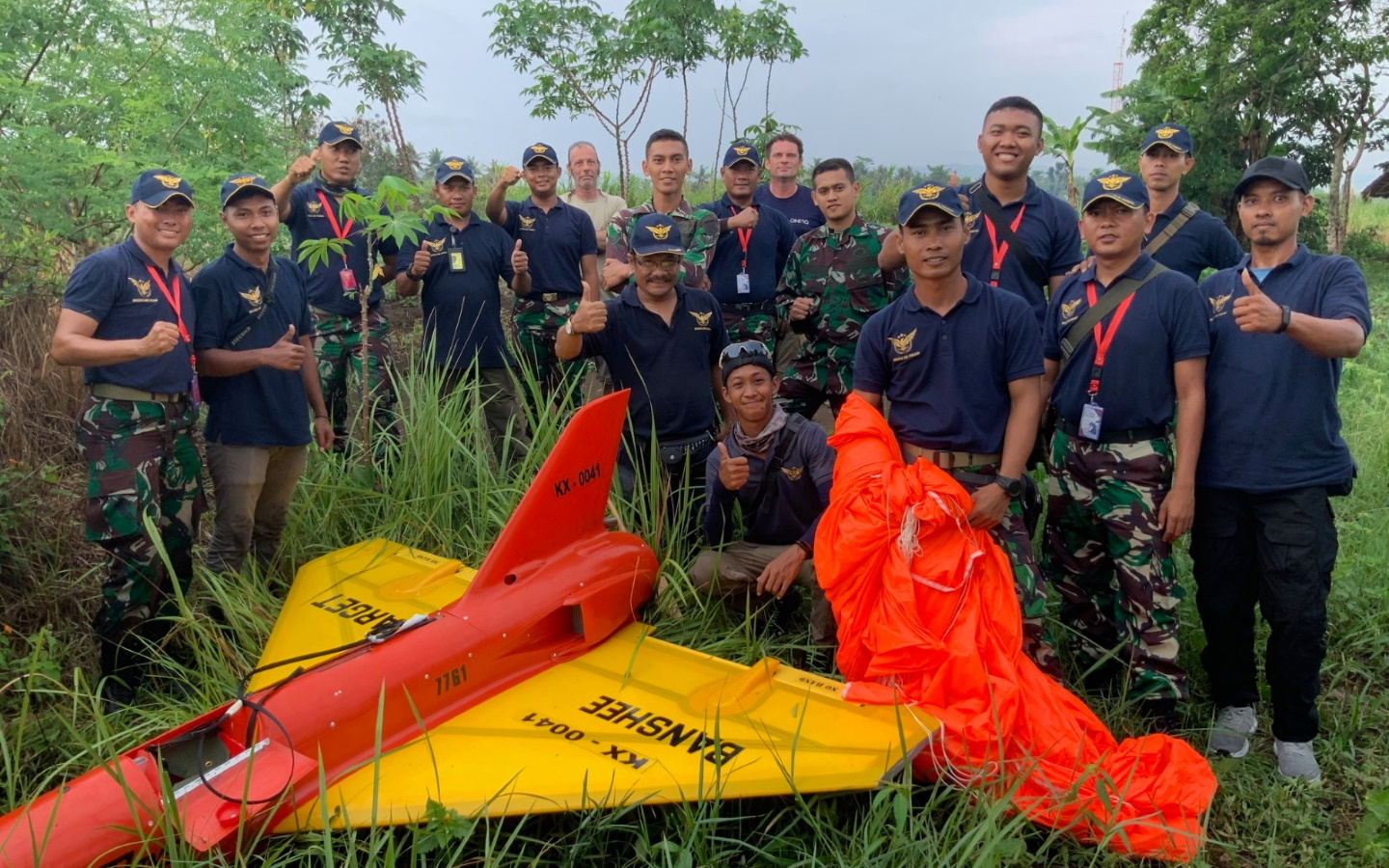 Indonesia Banshee Whirlwind acceptance testing