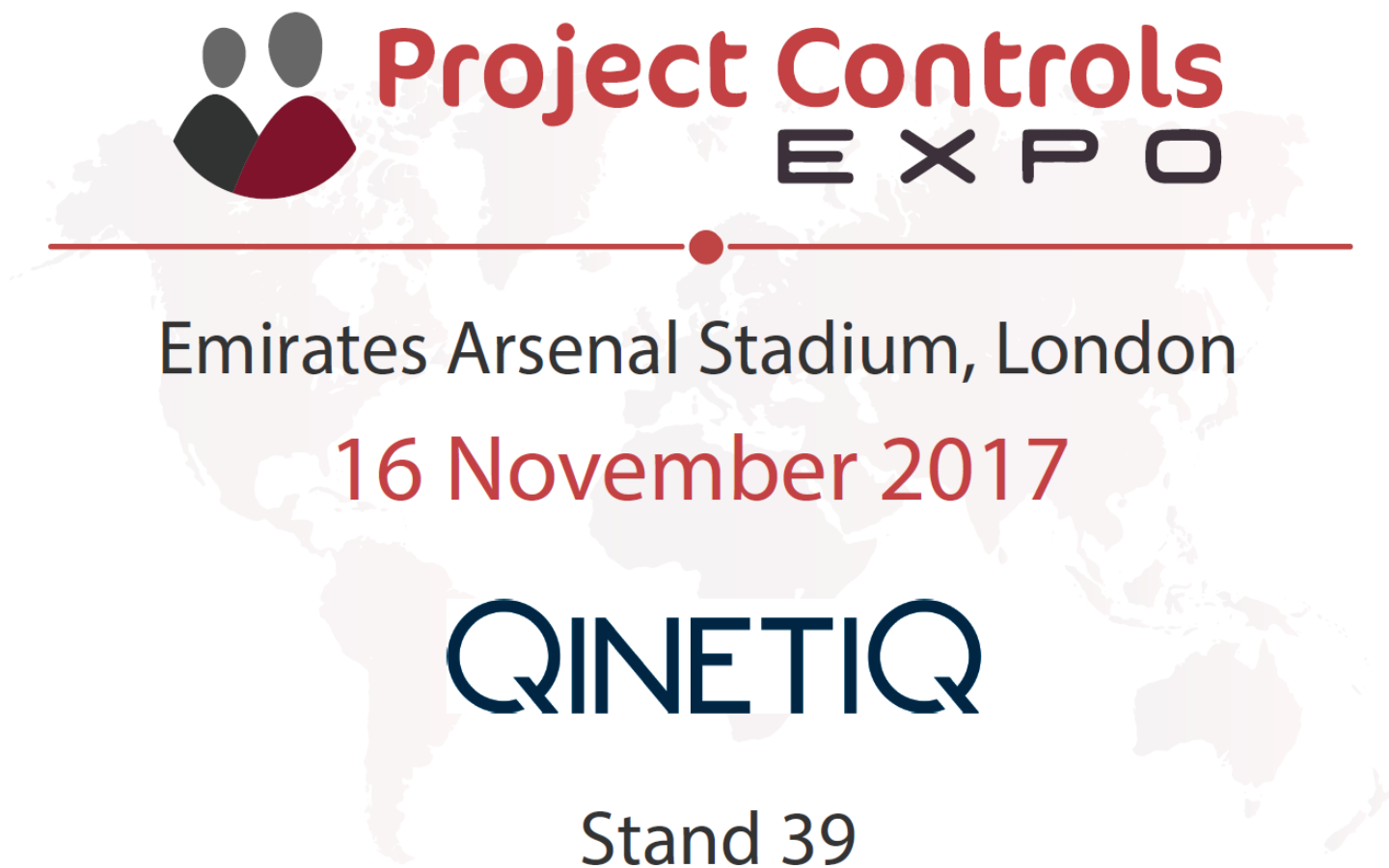 QinetiQ to attend Project Controls Expo 2017
