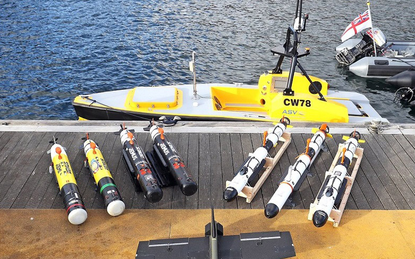 Unmanned Warrior: breaking records, one vehicle at a time