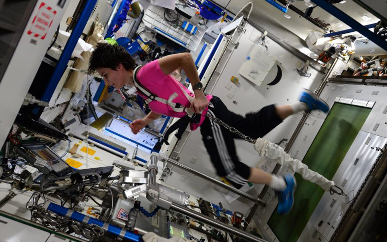 Faking gravity: the tech behind Tim Peake's space marathon
