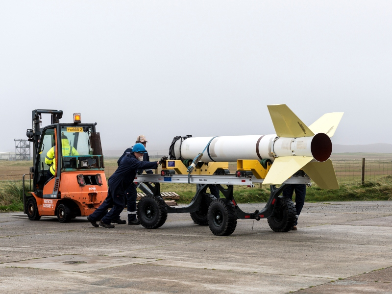 From sea level to space: Hebrides hosts successful At Sea Demonstration