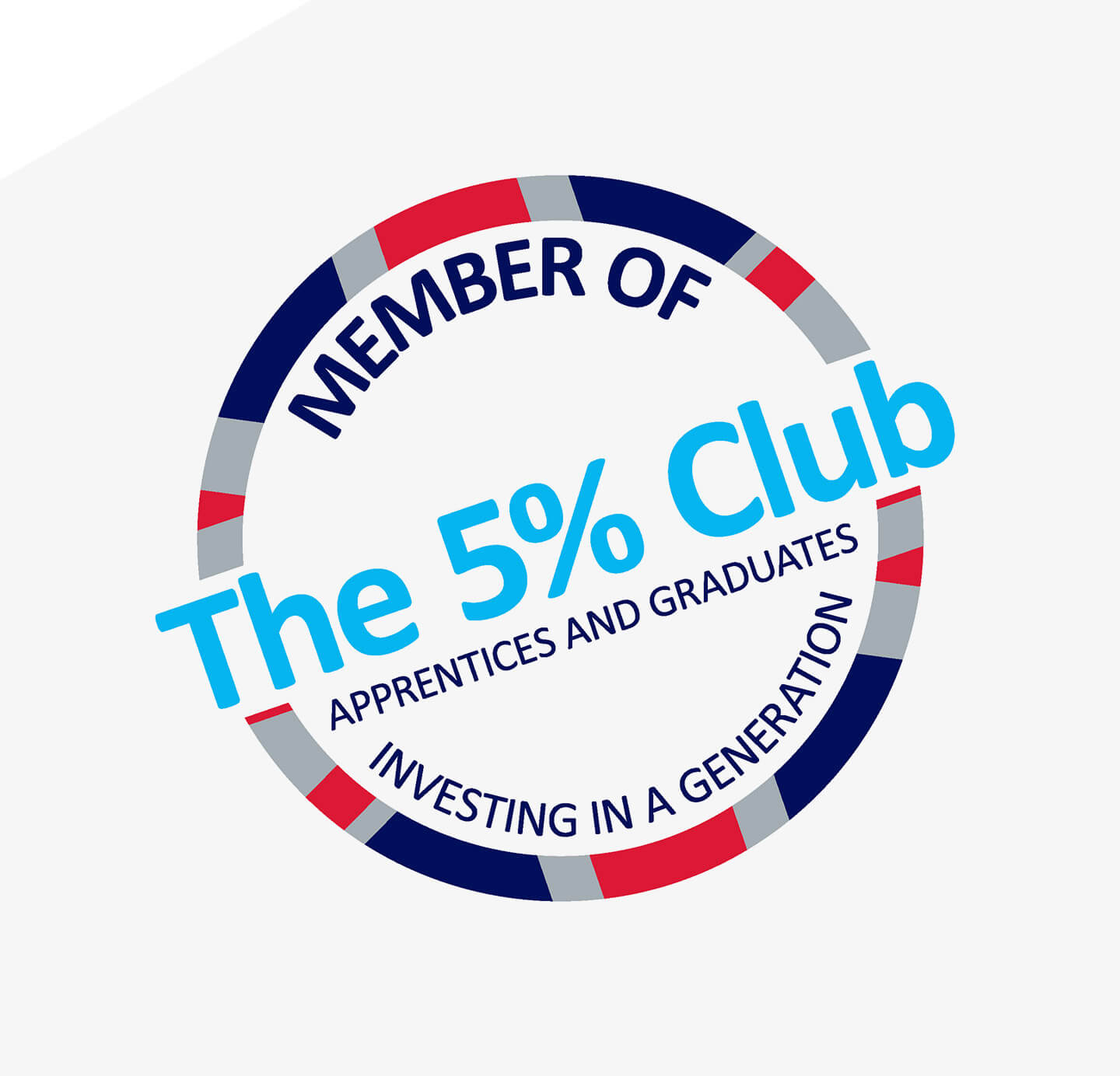 The 5% Club logo