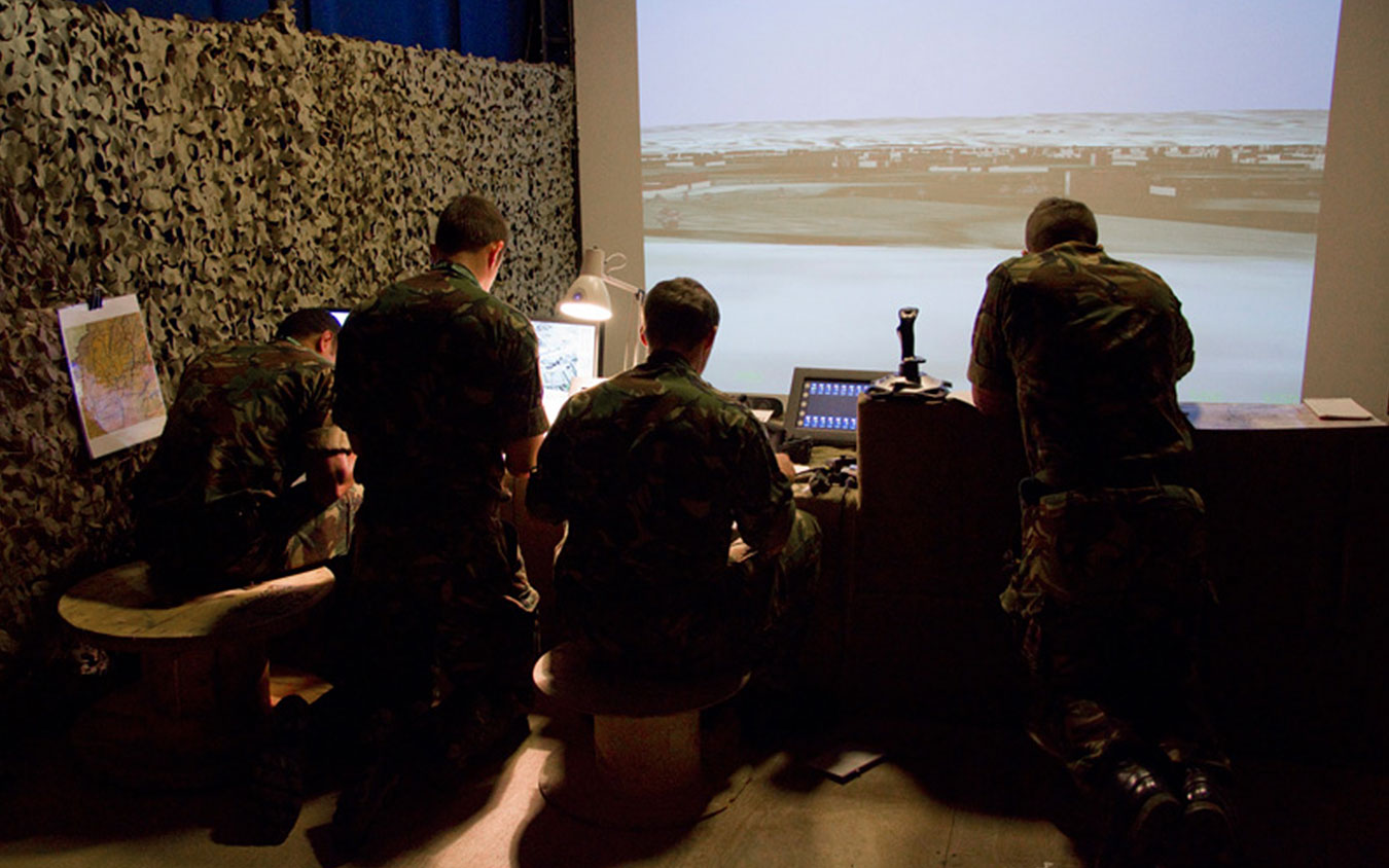 QinetiQ to enable collaborative virtual training across RAF bases