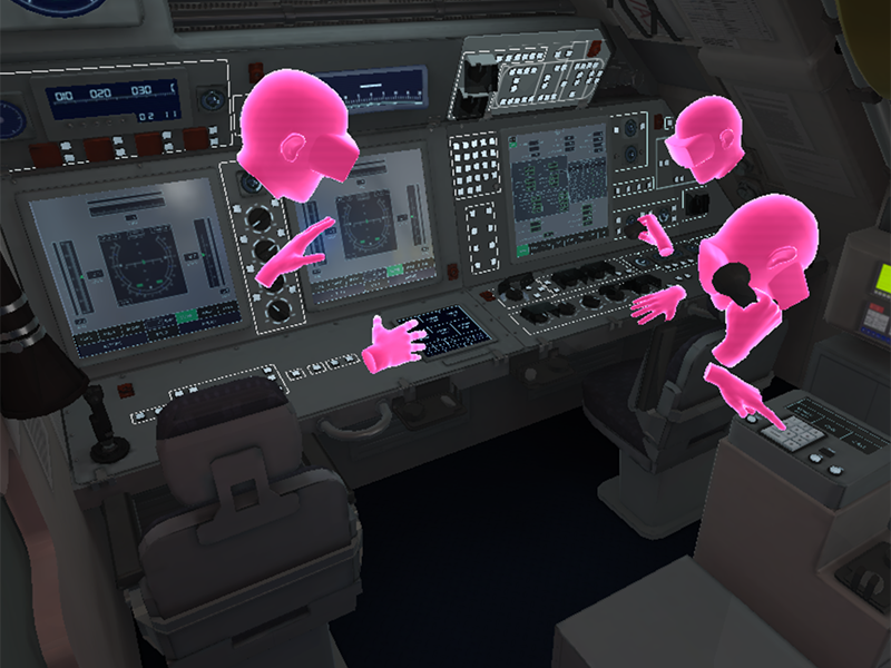 Inside the virtual submarine