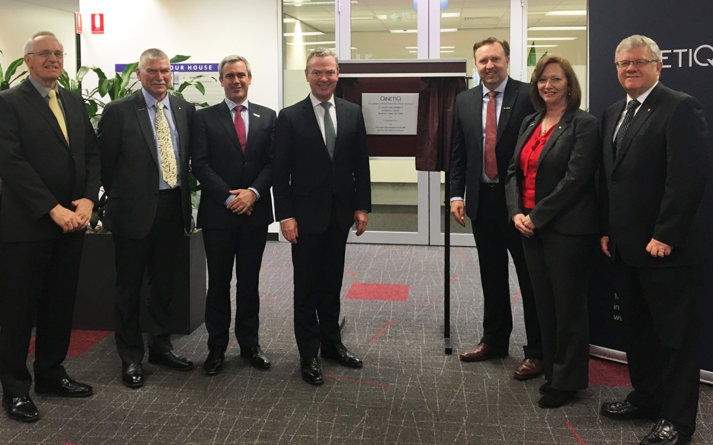 Minister for Defence Industry Christopher Pyne MP opens new Australian office