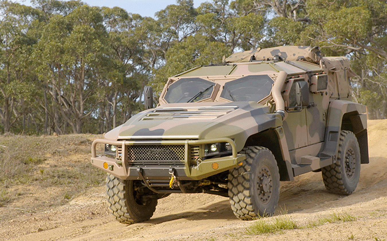 QinetiQ Australia starts fatigue testing on Thales's Hawkei vehicle