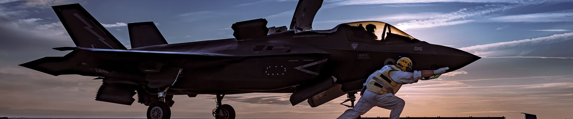 UK F-35B Lightning Fighter Jet